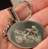 Fotograved Keyring engraved with your individual picture