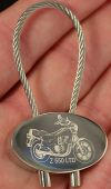 Kawasaki Z 550 LTD Keyring Z550LTD Copper Z550