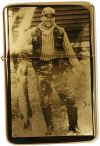 Photoengraving petrol lighter engraved w. y. individual picture