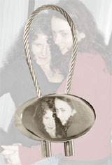 Individual keyring engraved with your individual picture